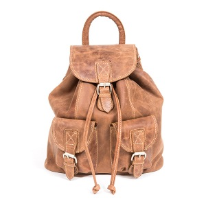 mochila de couro para mulher
